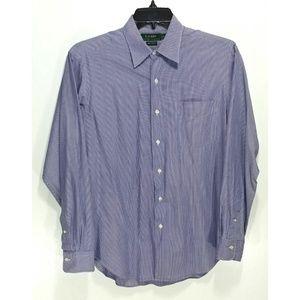 Lauren Ralph Lauren Button Front Dress Shirt